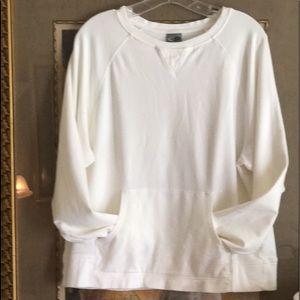 EUC Champion lightweight sweatshirt. Sz. XL. WHITE